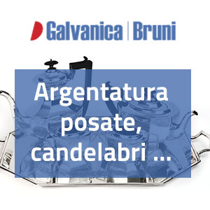 Argentatura - Galvanica Bruni Roma