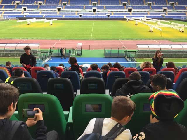"""Al via """"Emozione Olimpico"""", start con lo stadio e Alessia Zecchini"""