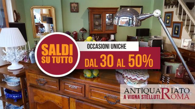 Saldi Antiquariato roma