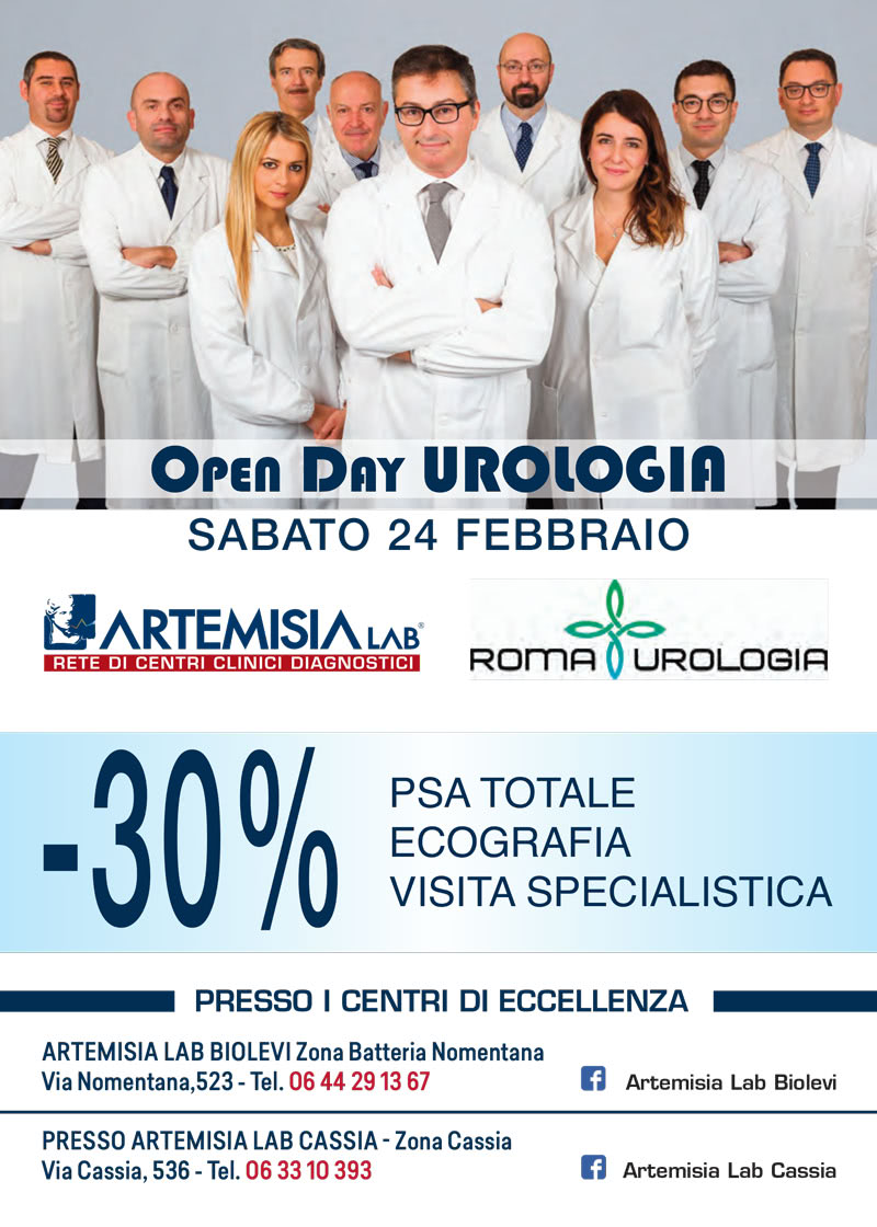 Open day urologia Artemisia Lab Cassia