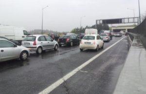 traffico via flaminia