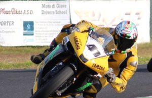 Fabrizio Imbruglia - su moto Yamaha
