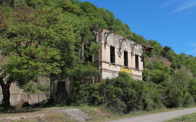 monteromano vecchia stazione