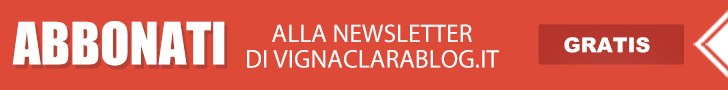 iscriviti alla newsletter di VignaClaraBlog.it