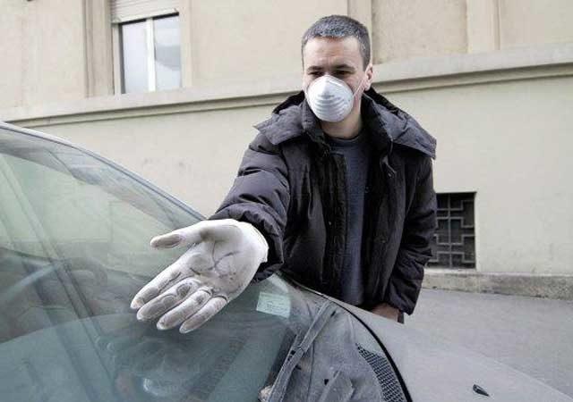 smog a roma mal'aria