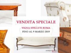 Vendita speciale mobili antiquariato roma