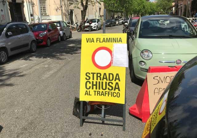 via-flaminia-chiusa