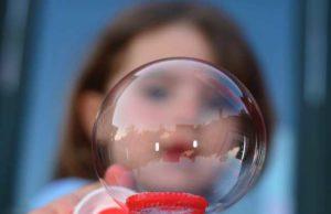 bolla sapone bambini