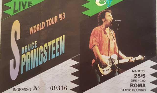 bruce Springsteen roma 93