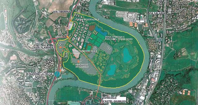 progetto parco sportivo polisportiva Lazio
