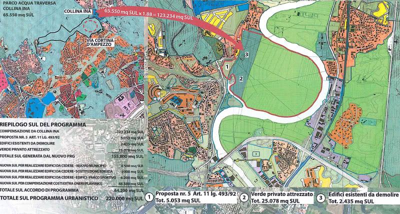 Mappa parco sportivo polisportiva Lazio