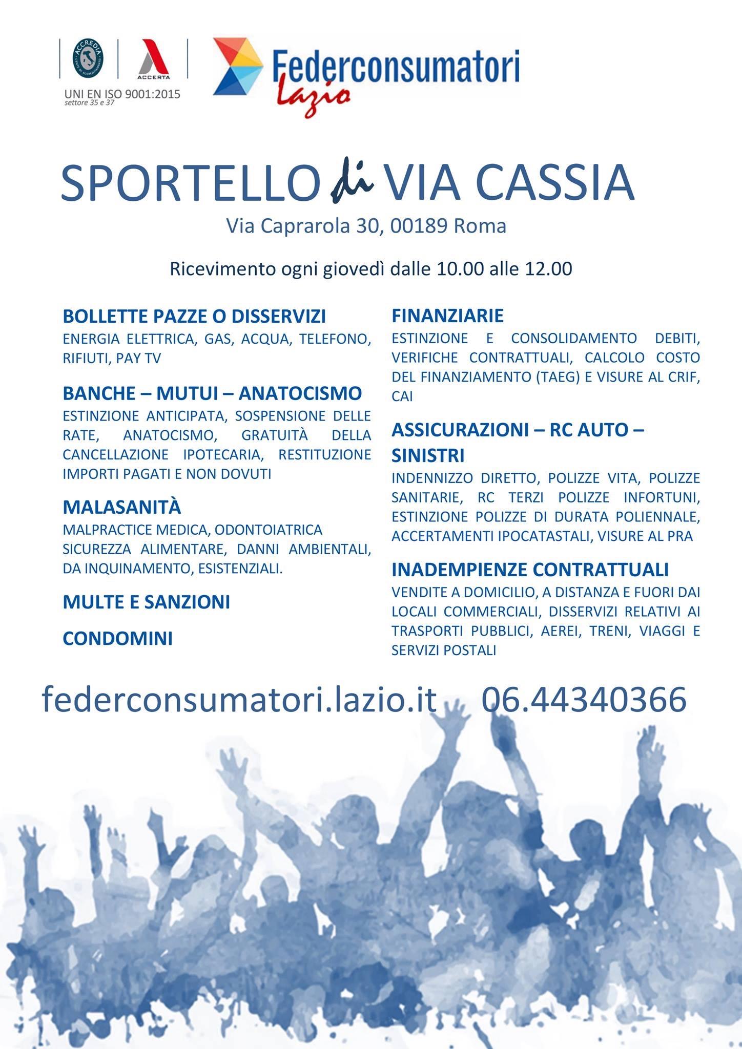federconsumatori Cassia