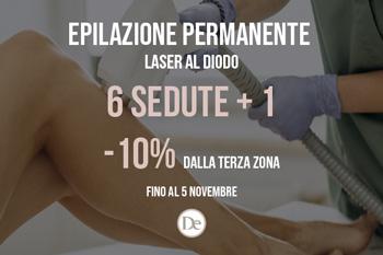 Promozione epilazione Laser